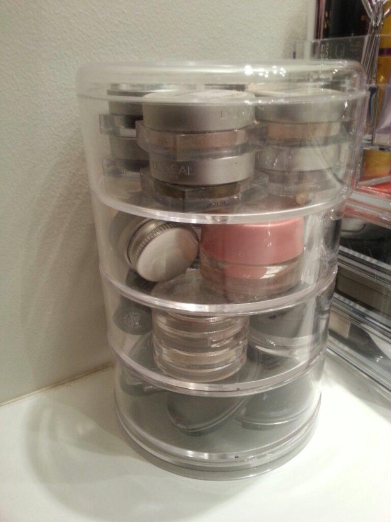 Mon nouveau rangement maquillage rouge aux ongles - Tour de rangement maquillage ...